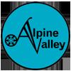 Alpine Valley Ski Resort Logo